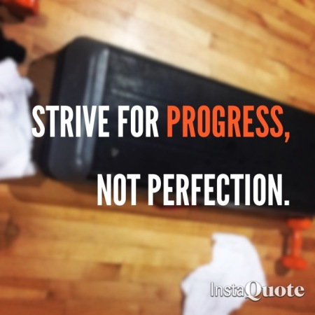 PROGRESS/NOTPERFECTION