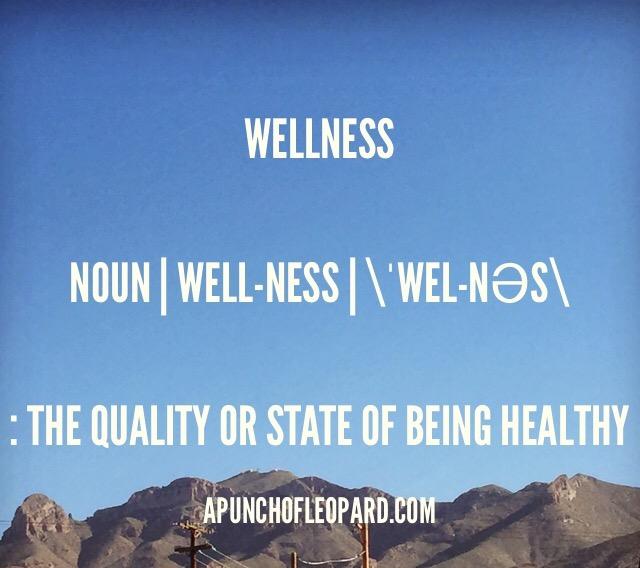 Wellness Definition