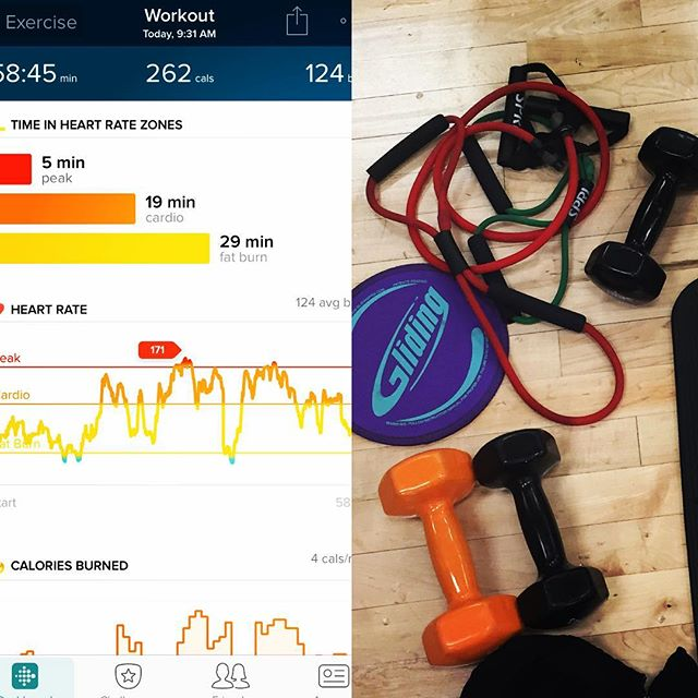 FitBit Work Out Summary
