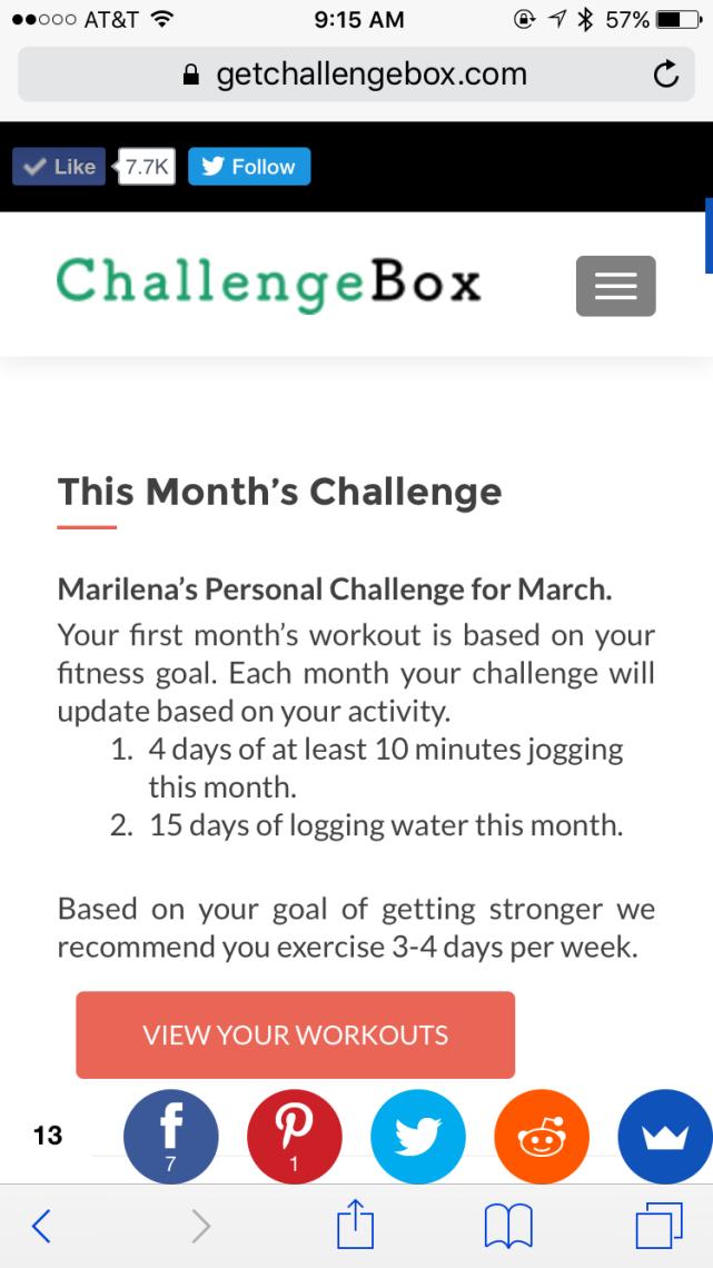 Challenge Box Challenge