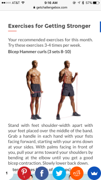 Challenge Box Exercises