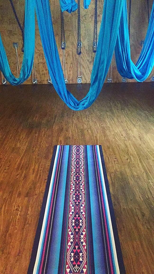 studiohopxapunchofleopard aerial yoga hammock